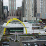 50th Anniversary McDonalds picture from above