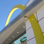 50th Anniversary McDonalds view of arches