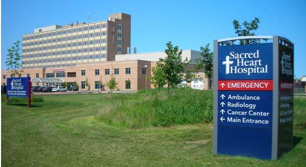 Sacred Heart Hospital-Front