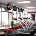 Snap Fitness interior of Lake Country Plaza