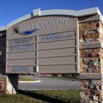 Signage at Lake Country Plaza