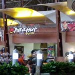 Pizza Hut inside of General Mitchell airport