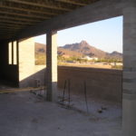 Building under construction at Redemptorist Renewal Center