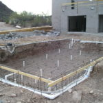 Concrete work at Redemptorist Renewal Center