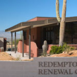 Redemptorist Renewal Center signage
