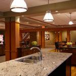 2nd floor kitchen at Ronald McDonald house