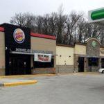 Exterior photo of BP/Burger King