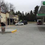 BP/Burger King exterior parking lot photo