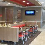 BP/Burger King seating area