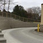 BP/Burger King retaining wall