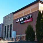 Exterior signage of Granite City Food and Brewery