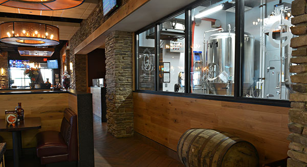 Dining Room and Brewery Window