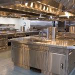 WCTC culinary classroom kitchen