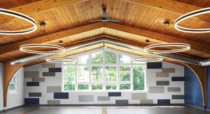 Community building interior