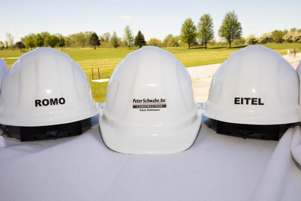 Project construction hats