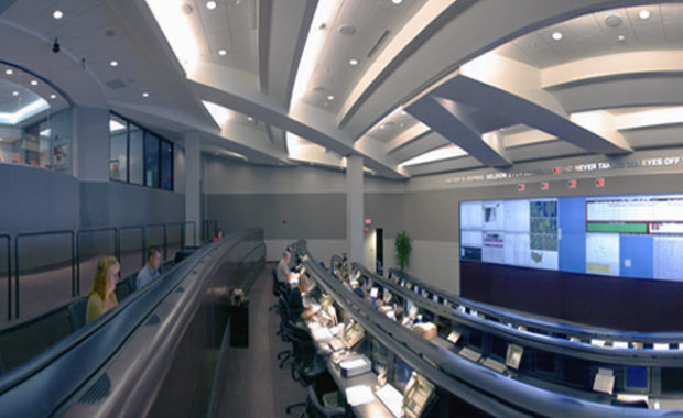 Interior of Norlight control center