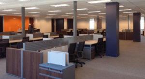 Interior office of Tek Systems