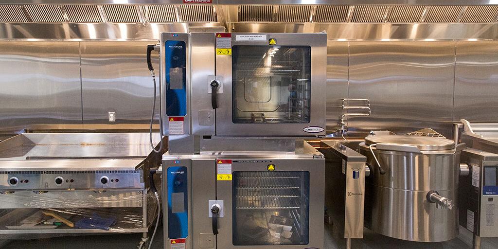 WCTC culinary classroom ovens