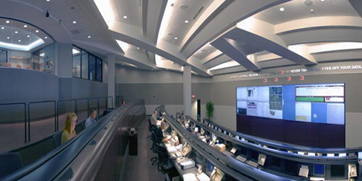 Interior of Norlight control center
